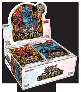Boosters Yu-Gi-Oh! - Battle Pack 2 La Guerre des Géants